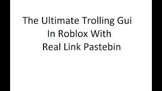 Roblox Life In Paradise 2 Ultimate Trolling Gui Script Pastebin