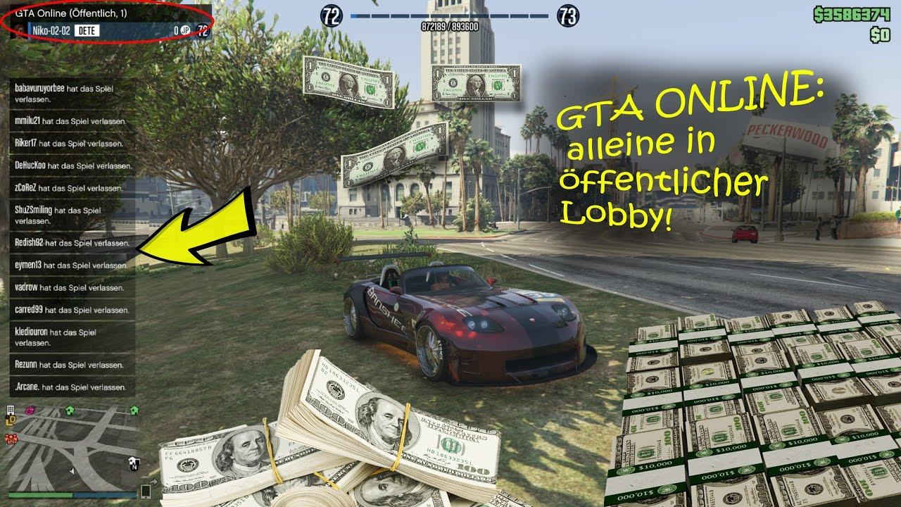 Gta Online Alleine