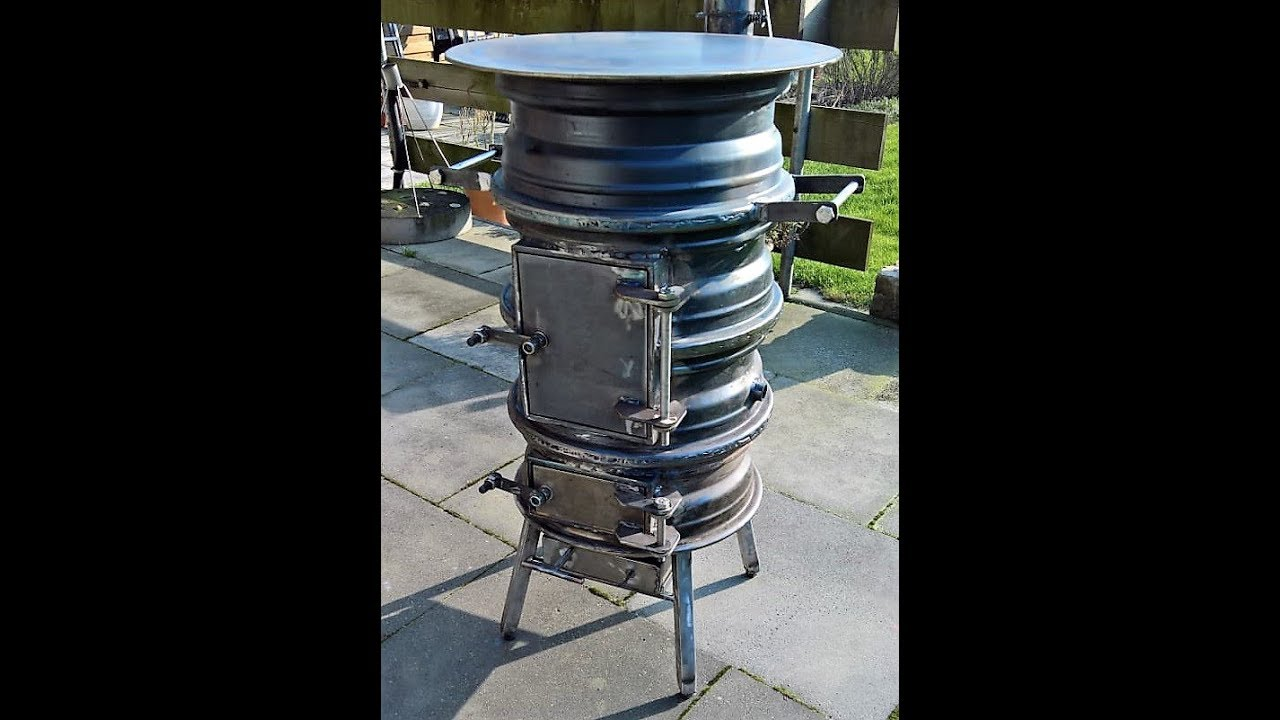 terrassenofen aus autofelgen rim stove teil 1 4 youtube. Black Bedroom Furniture Sets. Home Design Ideas