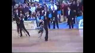Samba Campionati Italiani 2002 Gabusi Davide e Tavalazzi Claudia