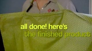 boning How to Make a Nursing Cover (How to Sew a Breastfeeding Cover - Sewing Tutorial)