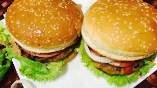 চিকেন বার্গার রেছেপি How to make Chicken burger in bangla..recipe and tips by Emu