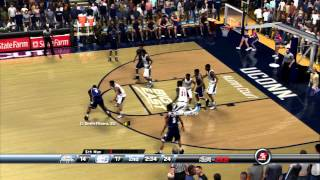 College Hoops 2K8 - 2014-15 Rosters - UConn vs Georgetown
