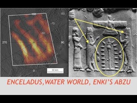 "NASA, Cassini, ""Enceladus, Could Harbor Life"" - Saturn's Water World & Enki's Abzu"