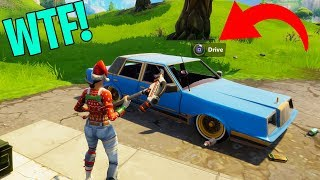 DRIVING CARS IN FORTNITE! Fortnite Insane Moments & Fails! #2 (Fortnite Battle Royale Compilation)
