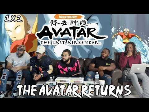 """Avatar The Last Air Bender 1 X 2 """"The Avatar Returns"""" Reaction/Review"""