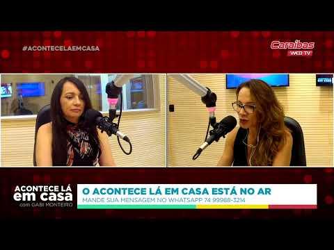 Acompanhe o programa ACONTECE LÁ EM CASA, direto da CARAÍBAS FM, em Irecê, Bahia!