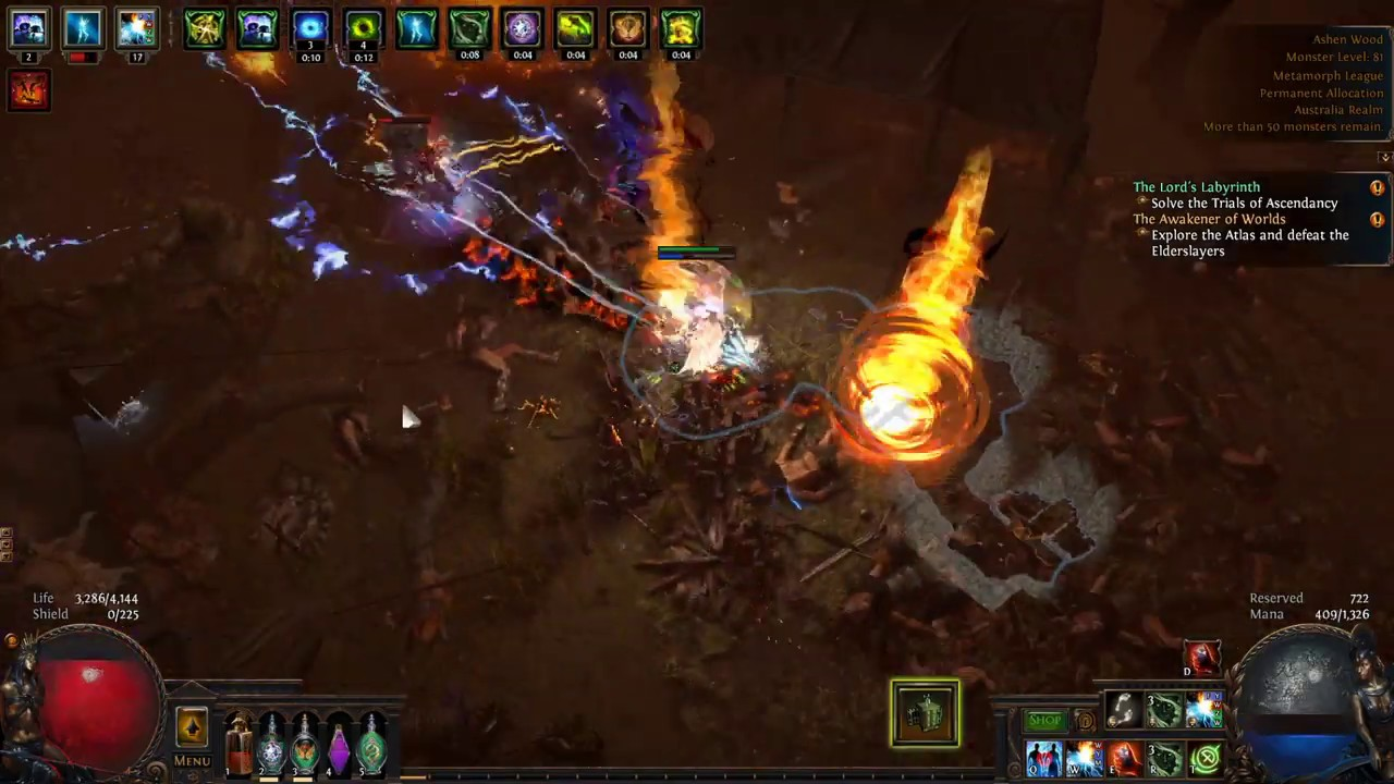 Path of exile max level