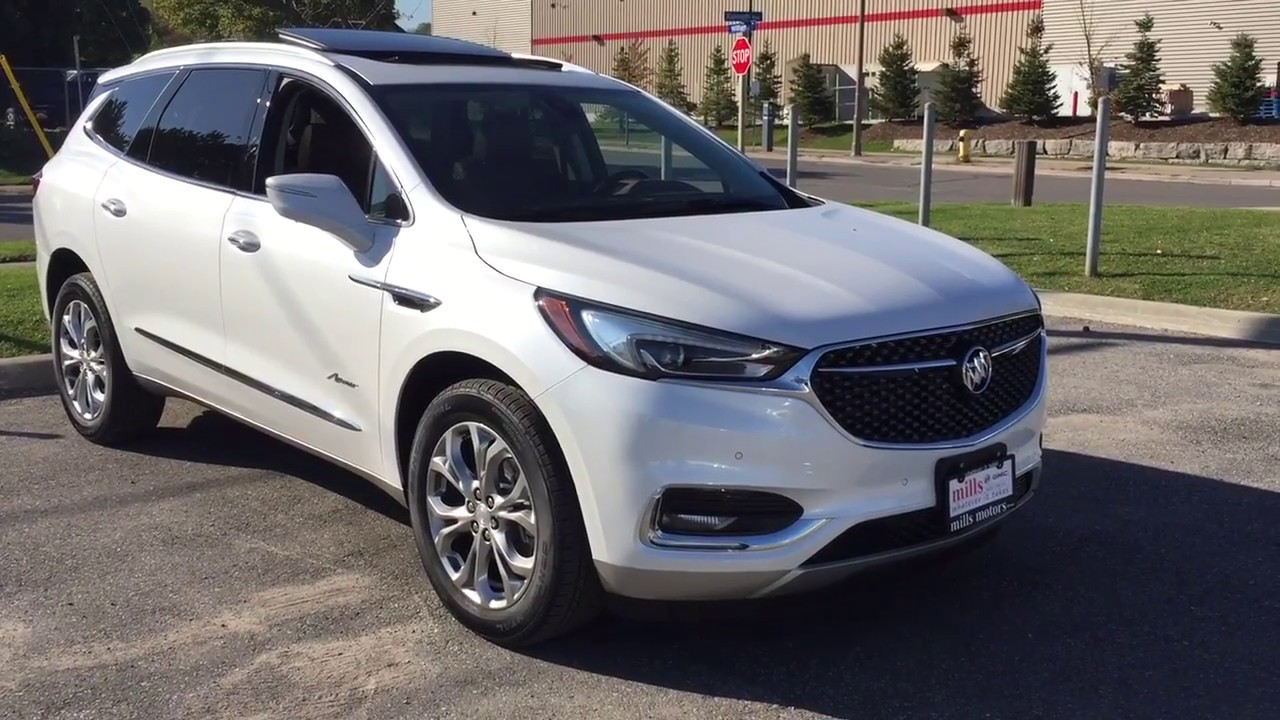 2018 Buick Enclave Avenir All New First