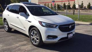 2018 Buick Enclave Avenir All New First Look White Oshawa ON Stock #180285