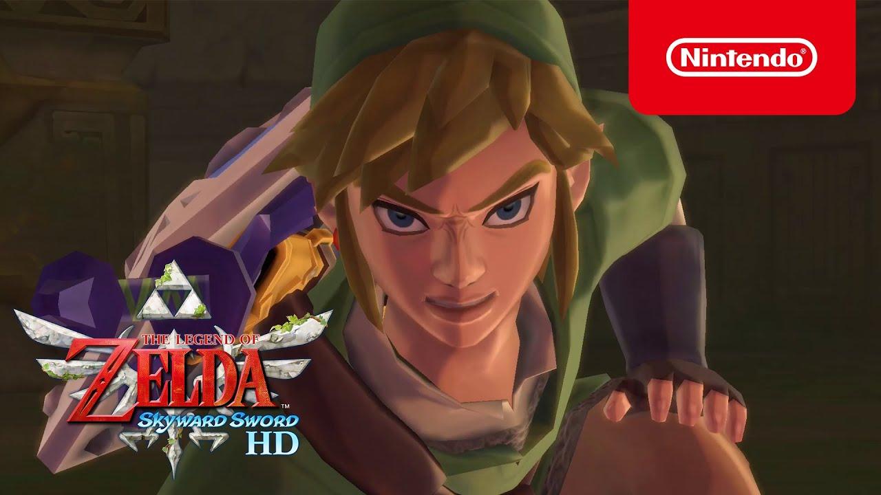 The Legend of Zelda: Skyward Sword HD – Releasetrailer (Nintendo Switch)