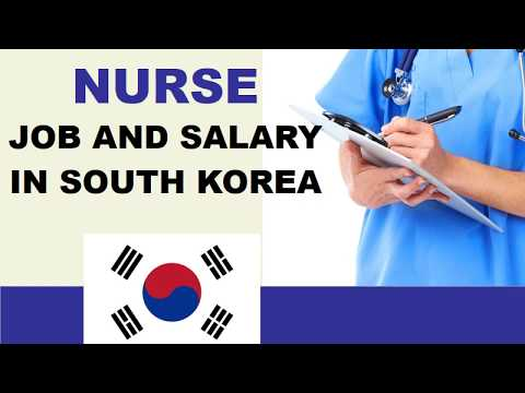 Nurse Salary in South Korea - Jobs and Wages in South Korea