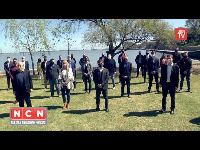 CINCO TV - Zamora acompañó a Kicillof por el fondo de Reactivación Cultural y Turística