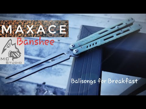 MidnightCat Studio | Maxace Knives Banshee Balisog Review