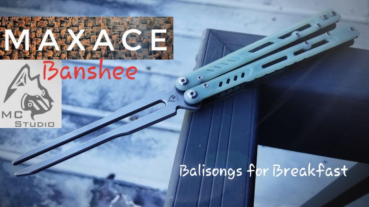 MidnightCat Studio   Maxace Knives Banshee Balisog Review