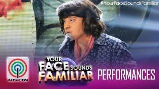 """Your Face Sounds Familiar: Edgar Allan Guzman as  Victor Wood - """"Carmelita"""""""