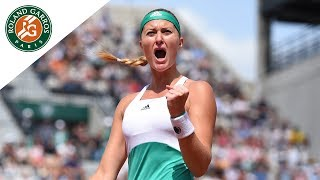 Kristina Mladenovic v Garbine Muguruza Highlights - Women