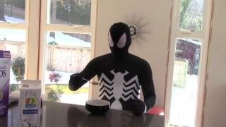 VENOM Spiderman's Morning Routine in Real Life IRL Funny Superhero Movie