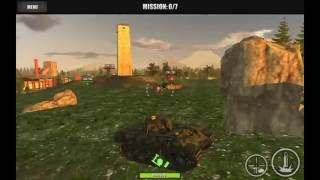 World Of Steel : Tank Force - Panther Game Play 3-9