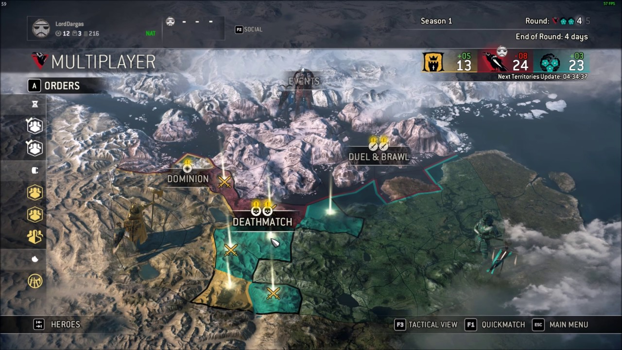 Matchmaking failed for honor