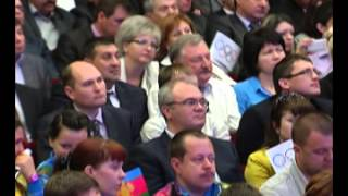 видео Россия: Олимпийский фонтан обновил программу