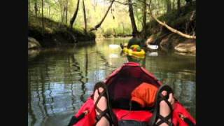 Kayaking on Chickamauga Creek near Ringgold