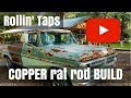Rusty the Copper Rat Rod - 1970 Ford F100 - Patching the roof line with copper