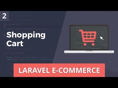 Laravel E-Commerce - Shopping Cart - Part 2