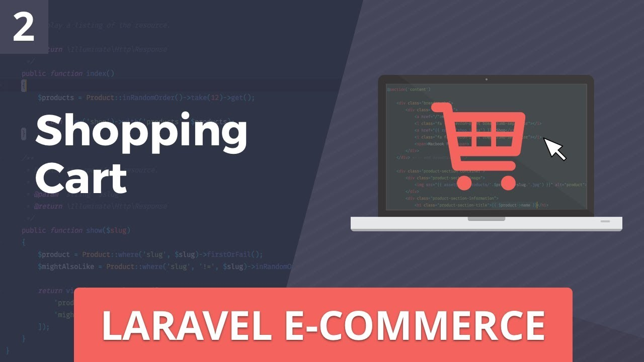 Laravel E-Commerce - Shopping Cart - Part 2