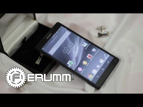 Sony Xperia ZL - подробный видеообзор от сайта Ferumm.com