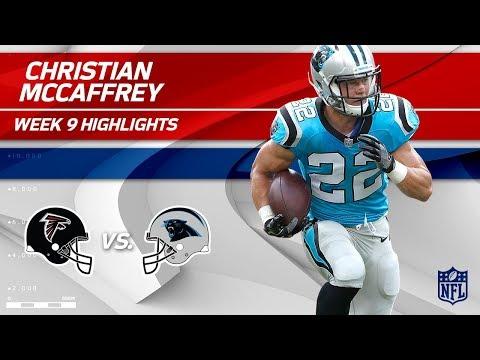 Christian McCaffrey Highlights | Falcons vs. Panthers | Wk 9 Player Highlights