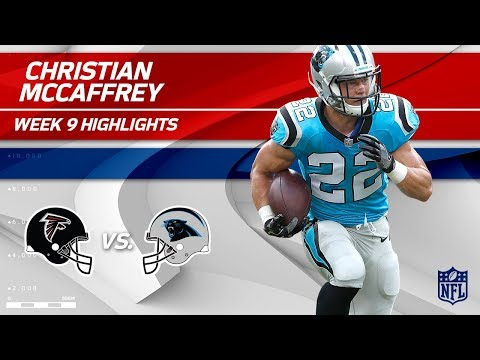 Christian McCaffrey Highlights | Falcons vs. Panthers | Wk 9 Player Highlights