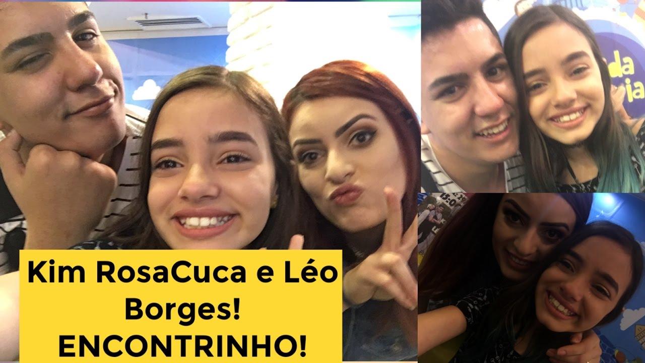 Kim Rosacuca E Leo Borges Encontrinho No Rj Youtube