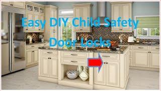 DIY easy child safety locks
