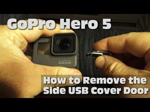 How to Remove the Side USB Cover Door on GoPro Hero5  sc 1 st  GoPro Support Hub & Solved: Hero 6 black Doesn\u0027t open the charging port door - GOPRO ...