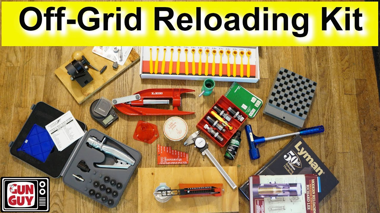 My Off-Grid & Travel Reloading Kit