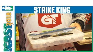 Strike King NEW Softbait Colors with Mark Rose | iCast 2018