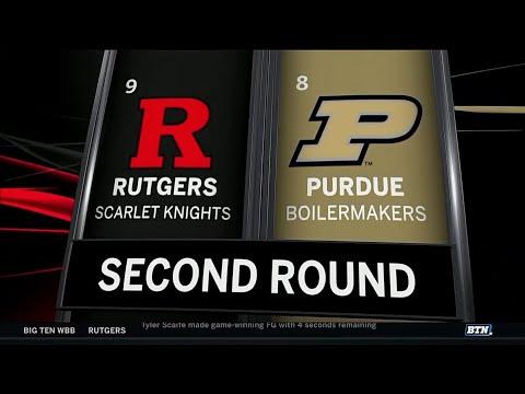 2018 Big Ten Women's Basketball Tournament: Rutgers vs. Purdue