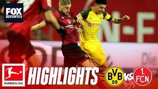 Nuremberg 0-0 Dortmund | HIGHLIGHTS | Bundesliga