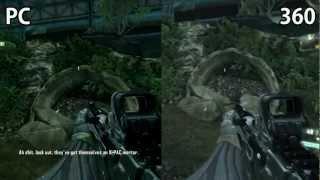 Crysis 3 - PC vs XBOX360 (beta)