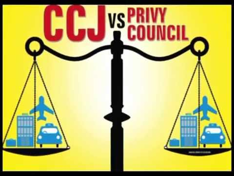 CCJ vs Privy Council