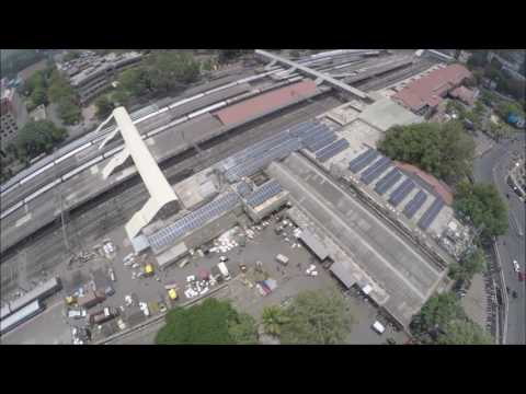 Solar Power Plant at Pune Railway Station