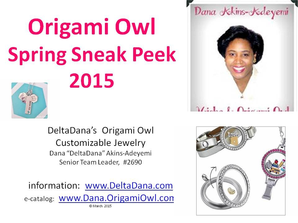 Origami Owl Spring Sneak Peek 2015 By Deltadana Youtube