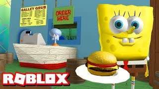 ESCAPE THE KRUSTY KRAB OBBY!! | Roblox Adventures thumbnail