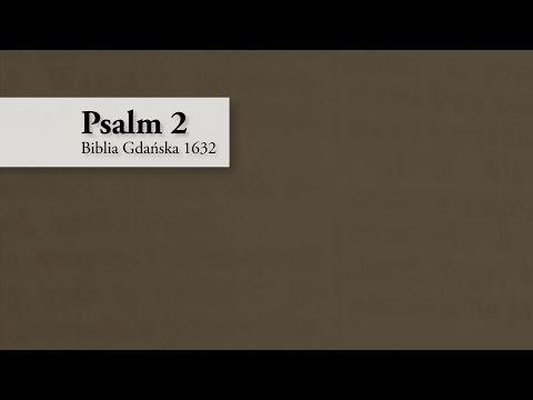 Psalm 2 – Biblia Gdańska 1632