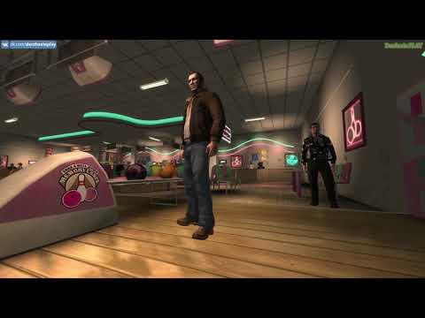 Прохождение GTA 4 на 100% - Играем в Боулинг и Дартс (Победа)