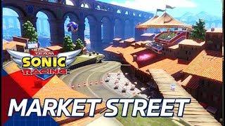 『チームソニックレーシング』のBGMをご紹介! 第2回は「Market Street...