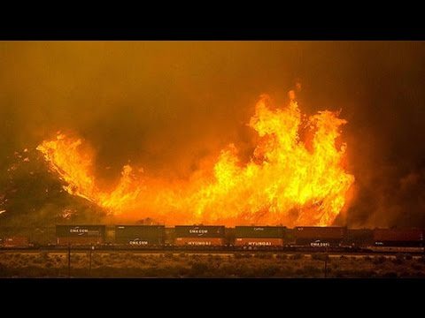 Fierce wildfires force 82,000 California residents to evacuate