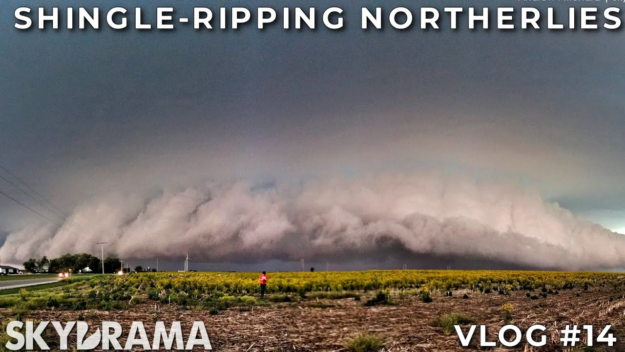 SHINGLE-RIPPING NORTHERLIES | Rossville, IL HP Supercell | May 26th, 2017 | Skydrama VLOG