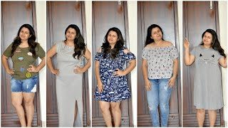 Try On Fashion Haul 2017   Lifestyle, Koovs, Ajio   Try on Clothing Haul